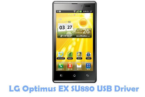 Download LG Optimus EX SU880 USB Driver