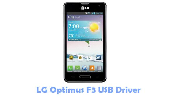 Download LG Optimus F3 USB Driver