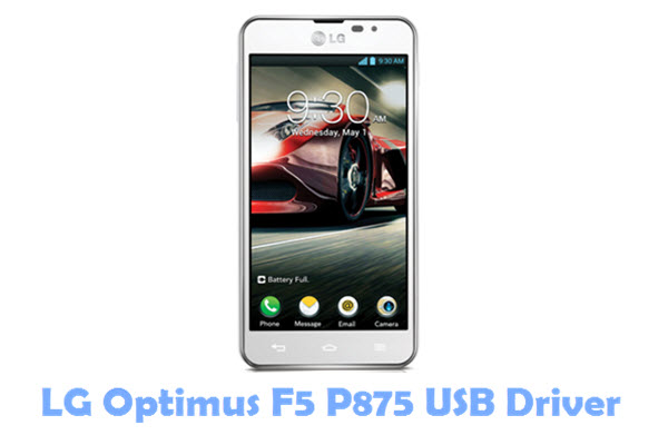 Download LG Optimus F5 P875 USB Driver