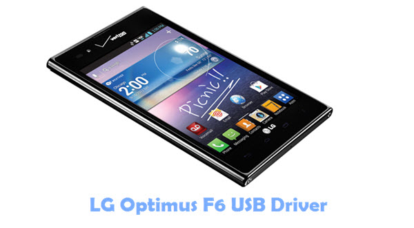 Download LG Optimus F6 USB Driver