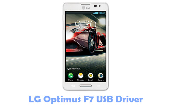Download LG Optimus F7 USB Driver