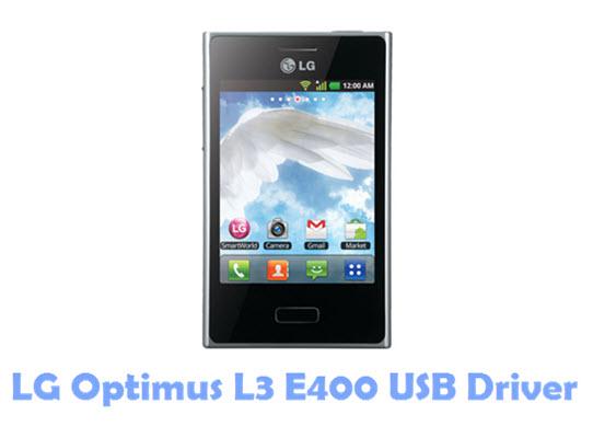 LG Optimus L3 E400 USB Driver