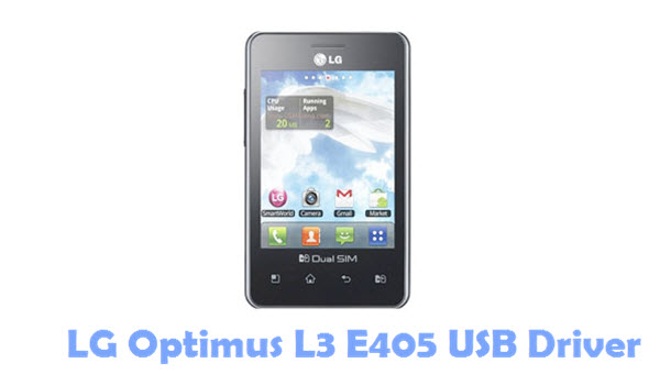 Android update for LG Optimus L3(E405)
