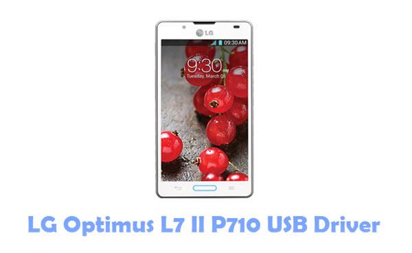 Download LG Optimus L7 II P710 USB Driver