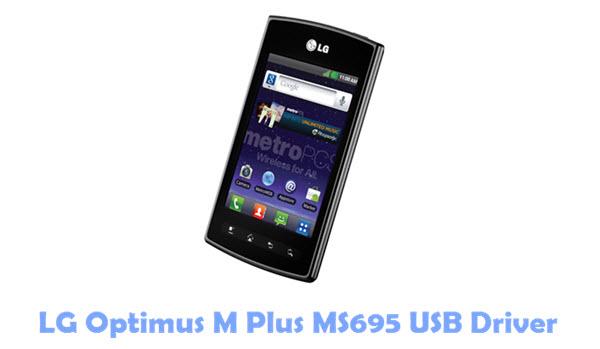 Download LG Optimus M Plus MS695 USB Driver