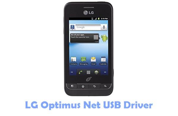 Download LG Optimus Net USB Driver