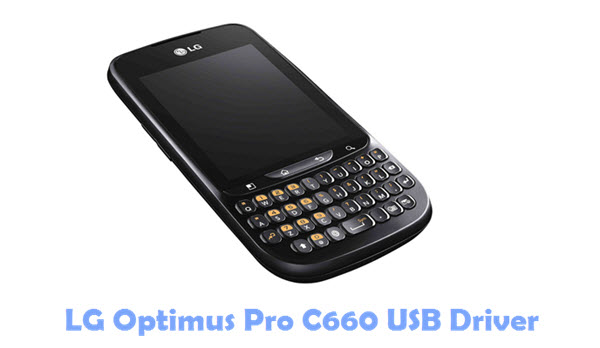 Download LG Optimus Pro C660 USB Driver