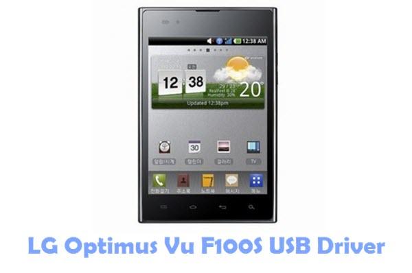 Download LG Optimus Vu F100S USB Driver