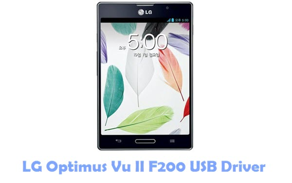 Download LG Optimus Vu II F200 USB Driver