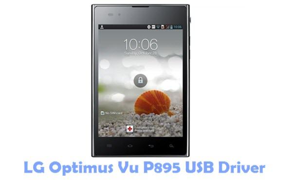 Download LG Optimus Vu P895 USB Driver