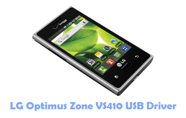 Download LG Optimus Zone VS410 USB Driver