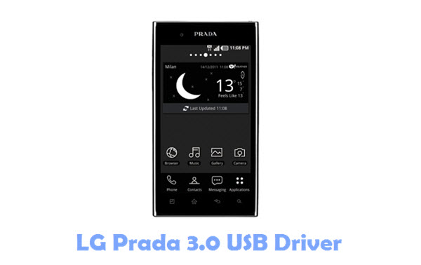 Download LG Prada 3.0 USB Driver