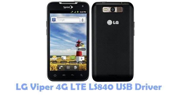 Download LG Viper 4G LTE LS840 USB Driver