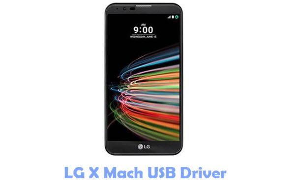 Download LG X Mach USB Driver