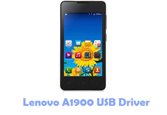 Download Lenovo A1900 USB Driver