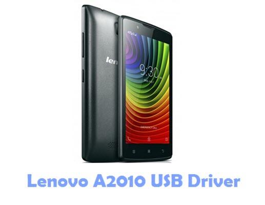 Download Lenovo A2010 USB Driver