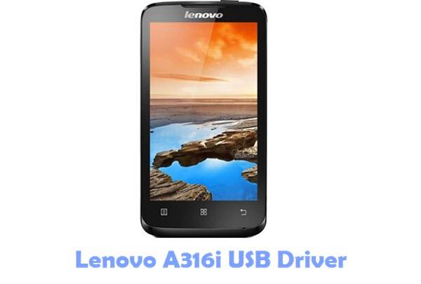 Download Lenovo A316i USB Driver