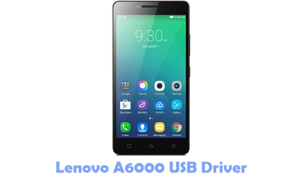 Download Lenovo A6000 USB Driver