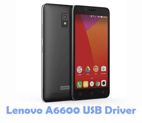 Download Lenovo A6600 USB Driver