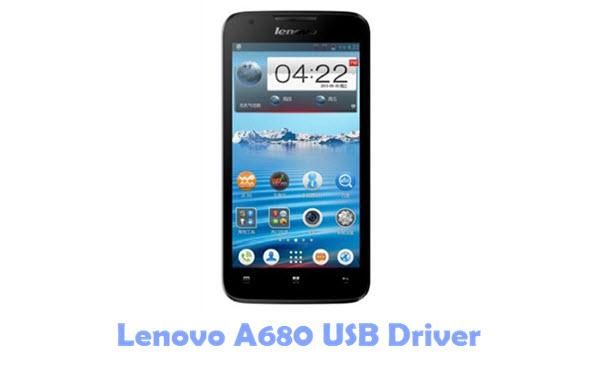 Download Lenovo A680 USB Driver