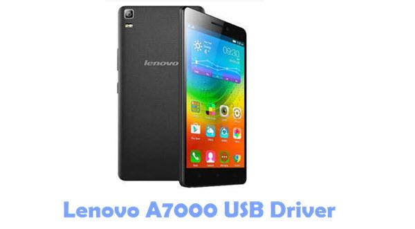 Download Lenovo A7000 USB Driver