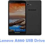 Lenovo A880 USB Driver