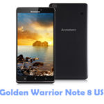 Lenovo Golden Warrior Note 8 USB Driver