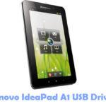 Lenovo IdeaPad A1 USB Driver