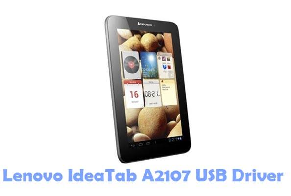 Download Lenovo IdeaTab A2107 USB Driver