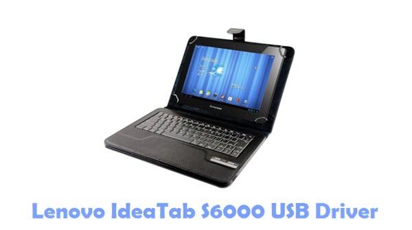 Lenovo IdeaTab S6000 USB Driver