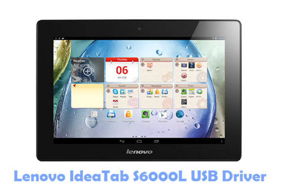 Download Lenovo IdeaTab S6000L USB Driver