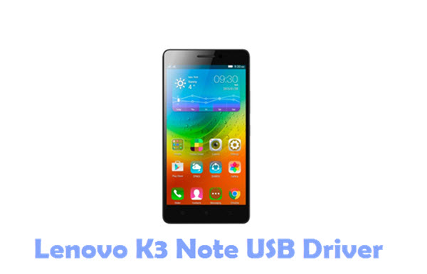 Download Lenovo K3 Note USB Driver