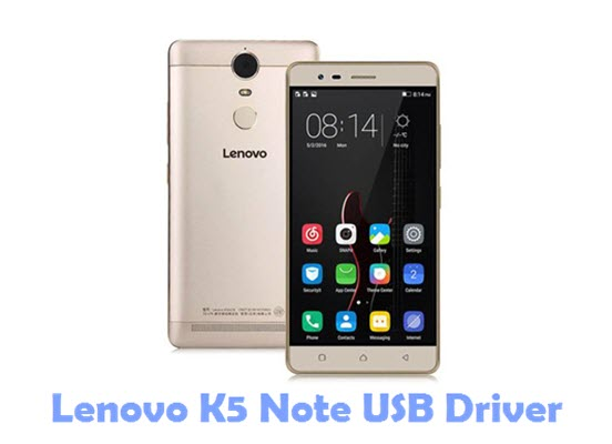Download Lenovo K5 Note USB Driver