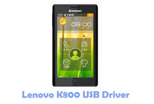 Download Lenovo K800 USB Driver