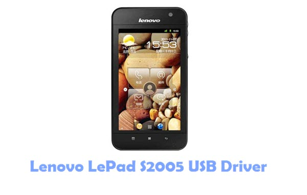 Download Lenovo LePad S2005 USB Driver