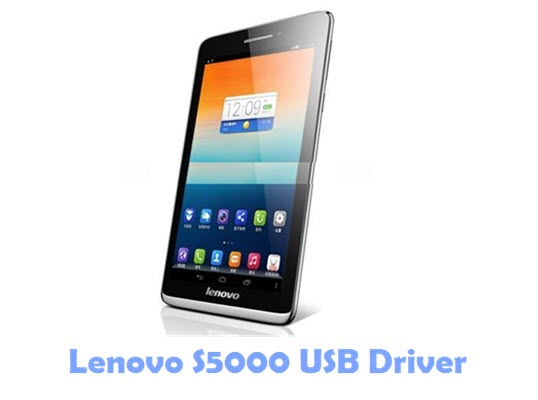 Download Lenovo S5000 USB Driver