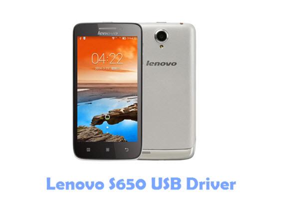 Download Lenovo S650 USB Driver