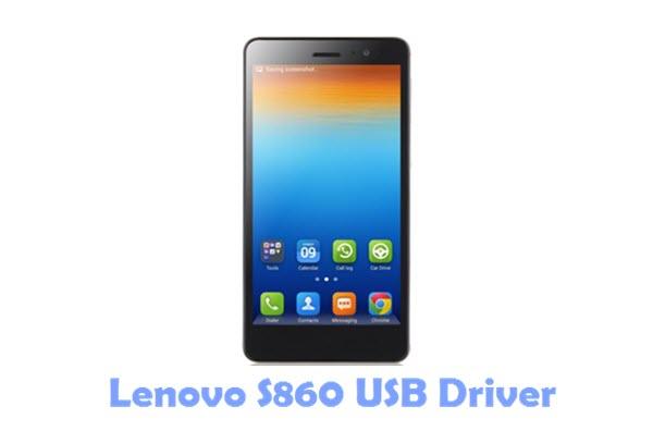 Download Lenovo S860 USB Driver