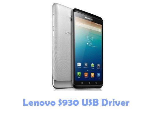 Download Lenovo S930 USB Driver