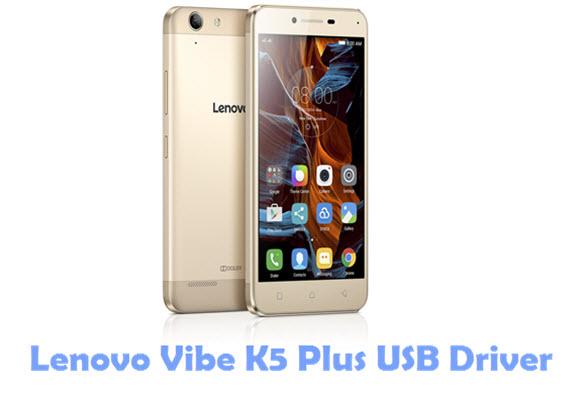 Lenovo Vibe K5 Plus USB Driver