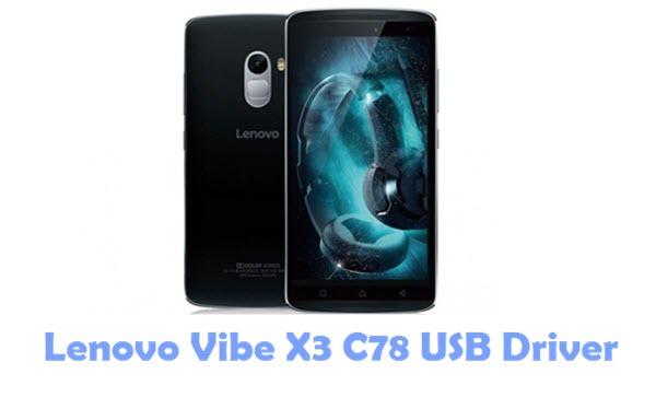 Lenovo Vibe X3 C78 USB Driver