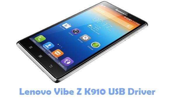 Download Lenovo Vibe Z K910 USB Driver