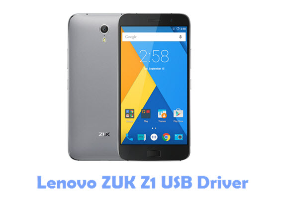 Download Lenovo ZUK Z1 USB Driver