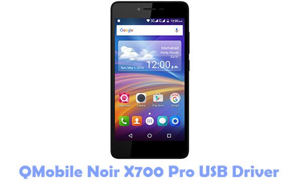 Download QMobile Noir X700 Pro USB Driver