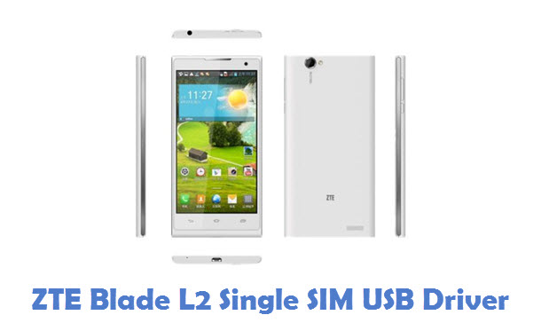 ZTE Blade L2 Single SIM USB Driver