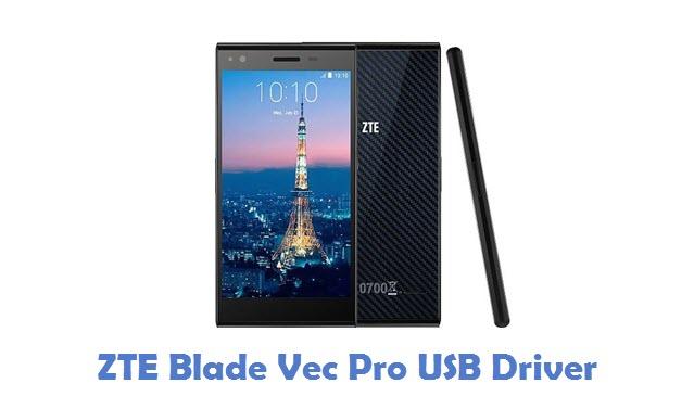 ZTE Blade Vec Pro USB Driver
