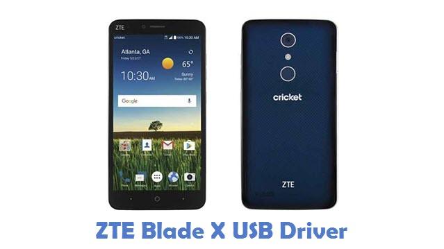 ZTE Blade X USB Driver