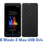 ZTE Blade Z Max USB Driver
