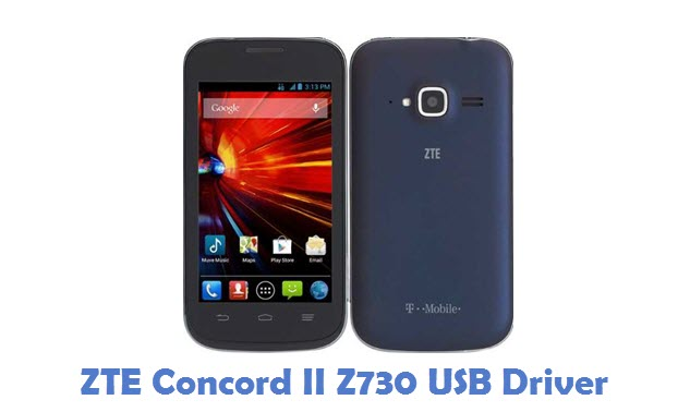 ZTE Concord II Z730 USB Driver