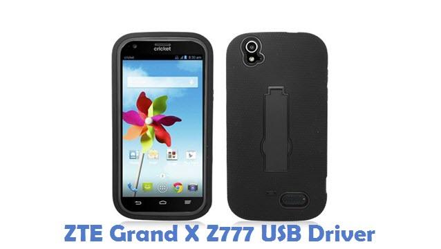 ZTE Grand X Z777 USB Driver